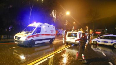 مقتل 39 شخصا وإصابة 65 آخرين في هجوم مسلح على ملهى ليلي في اسطنبول