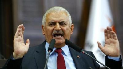 رئيس الحكومة التركية: أميركا لا تفعل شيئاً حيال داعش الثلاثاء 5 ربيع الثاني 1438هـ - 3 يناير 2017م