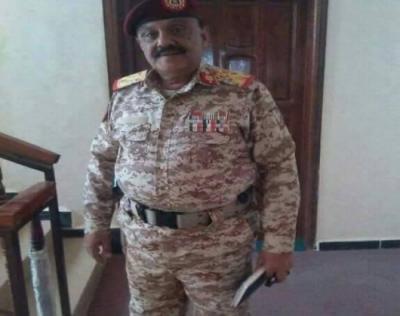 قائد المنطقة العسكرية الرابعة يخرج عن صمته ويكشف حقيقة ضبط قاطرة أسلحة مهربة من عدن للحوثيين