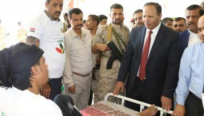 جباري : غدا مغادرة 107 جرحى للعلاج خارج اليمن