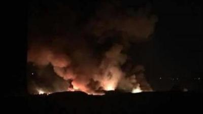 النظام السوري يتهم إسرائيل بقصف مطار المزة ومقتل عدداً من الضباط ..  والنظام  يتوعد