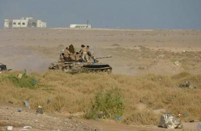 قوات الجيش تسيطر على مناطق جديدة وتقترب من المخا