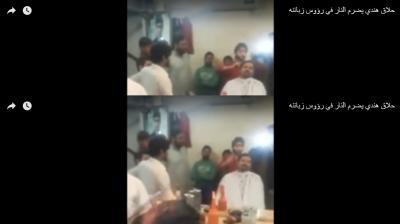 بالفيديو.. حلاق في الهند يقص شعر زبائنه بطريقة غريبة