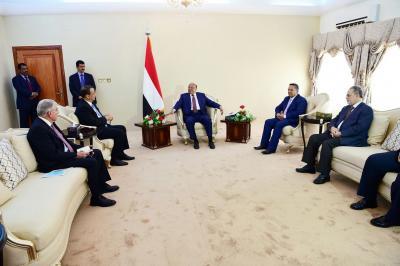 ولد الشيخ ينهي زيارة قصيرة لعدن دون مؤشرات عن انفراج بالأزمة اليمنية