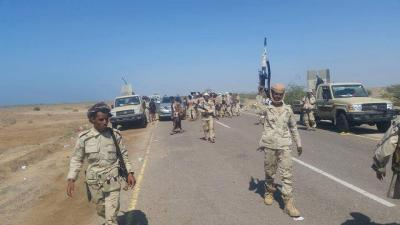 """قوات الجيش تتجاوز منطقة الجديد وتتقدم بإتجاه """" واجحة """" وميناء المخا"""