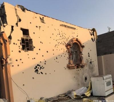 بالصور .. الداخلية السعودية تكشف تفاصيل انتحار إرهابيين بأحزمة ناسفة بعد حصارهم والقبض على رجل و إمرأة في جده