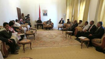 توجيهات حكومية بإصلاح خطوط نقل الكهرباء مأرب - صنعاء