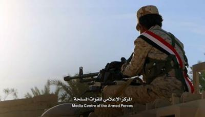 الجيش يحذر ويعلن مديريتي المطمة والزاهر وبقايا مديرية المتون بمحافظة الجوف مناطق عسكرية