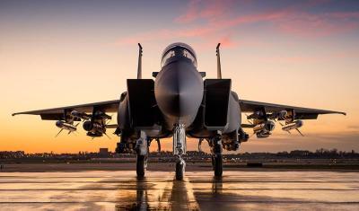 السعودية تدشن مقاتلة F.15-SA المتطورة ( صور)