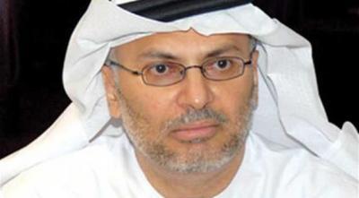 """الوزير الإماراتي """" قرقاش"""" يرد على كذبة إنسحاب مسبق للحوثيين وقوات صالح من المخا"""