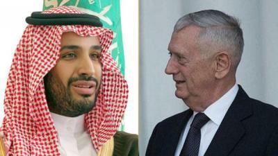 وزير الدفاع الأمريكي يهاتف وزير الدفاع السعودي محمد بن سلمان ويكشف موقف أمريكا من الهجوم على الفرقاطة السعودية