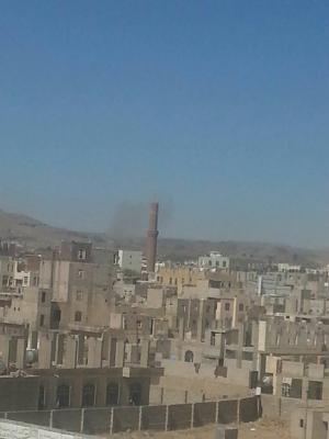 أسماء المواقع التي إستهدفها الطيران  في محيط العاصمة صنعاء