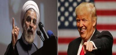 """الرئيس الإيراني """" روحاني """" يشن هجوماً على الرئيس الأمريكي """" ترمب """""""