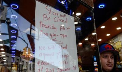يمنيون يردون على ترامب بإغلاق مئات المطاعم والمحلات في نيويورك