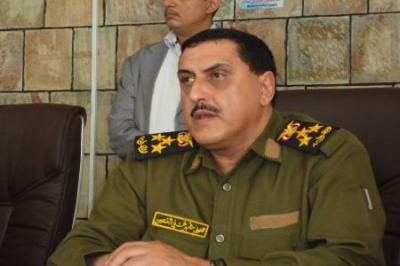 """مدير أمن تعز """" الشعيبي"""" : لن نسمح بتحويل المنازل إلى أقسام شرطة"""