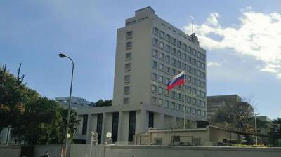 تعرض السفارة الروسية في دمشق للقصف ولا إصابات