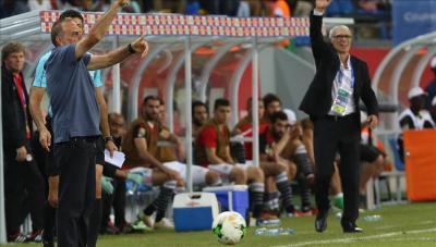 """المصريون يترقبون الفوز بالبطولة .. ومدرب مصر يصف الكاميرون بـ""""القوي والشرس"""" قبل النهائي الإفريقي"""