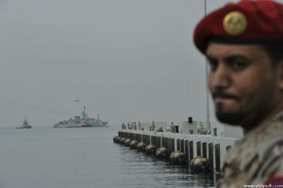 """بالصور .. وصول الفرقاطة السعودية """" المدينة """" المستهدفة من الحوثيين إلى جدة"""