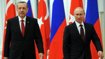 غارة روسية قتلت بالخطأ جنود أتراك .. وبوتين يعزّي