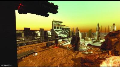 """الإمارات تعلن عن بناء """"مدينة متكاملة"""" على المريخ ( صور تحليليه)"""