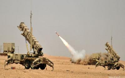التحالف يقول أن دفاعاته إعترضت الصاروخ الذي أطلقه الحوثيون بإتجاه خميس مشيط