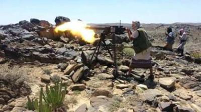 قتلى وجرحى من الحوثيين بينهم قائد الحملة بمديرية ذي ناعم  بالبيضاء