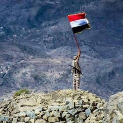 الجيش  يحرر مواقع في جبهة مقبنة غرب مدينة تعز