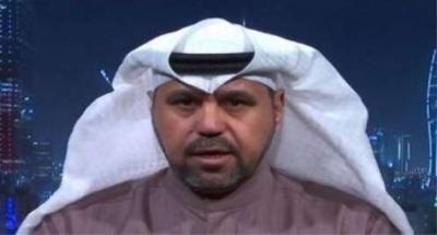 """بالفيديو .. المحلل السياسي الكويتي """" الشليمي """" يصف الحوثيين بـ """" البهائم """"وينصحهم  بتسليم أسلحتهم وأن الموضوع إنتهى وأن إيران تخلت عنهم"""