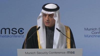 """أبرز ما قاله وزير الخارجية السعودي """" الجبير """" اليوم عن إيران وتدخلاتها في الشأن اليمني وموعد إنتهاء الحرب في اليمن"""