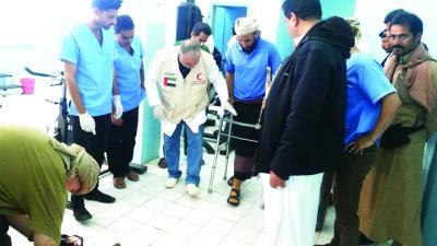 مغادرة دفعة جديدة من جرحى الجيش والمقاومة للعلاج في الهند