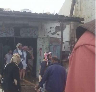 قتلى وجرحى في قصف صاروخي على سوق شعبي وسط مأرب