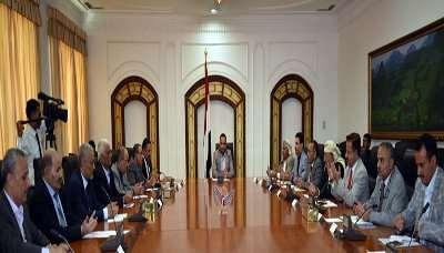 صدور قرار للمجلس السياسي  الأعلى التابع للحوثيين والمؤتمر بشأن تشكيل لجنة عسكرية وأمنيه ( نص القرار)