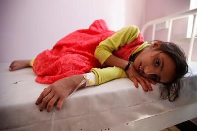 الكوليرا تتسبب بوفاة أكثر من 100 شخص في اليمن