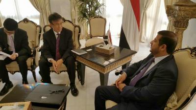 وزير النفط يلتقي السفير الفرنسي ورئيس مجلس إدارة شركة سينوبك الصينية لبحث ترتيبات الإستثمار في قطاع النفط والغاز