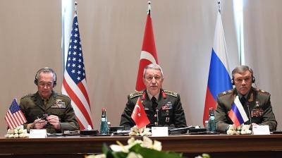 اجتماع لرؤساء أركان روسيا وأميركا وتركيا بشأن سوريا