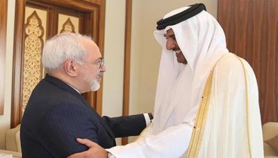 وزير الخارجية الإيراني في قطر ... هل تسعى إيران فعلاً لمصالحة خليجية؟