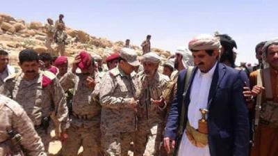 محافظ صنعاء يكشف عن المسافة التي تفصل الجيش والمقاومة عن مديرية أرحب بصنعاء