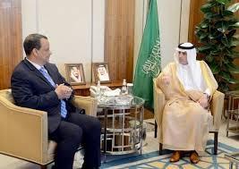 لبحث الأزمة اليمنية : ولد الشيخ يلتقي وزير الخارجية السعودي