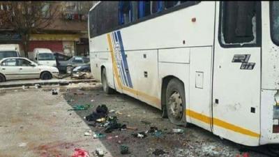 40 قتيلا و120 جريحا حصيلة ضحايا التفجيرات في منطقة باب مصلى في العاصمة السورية دمشق