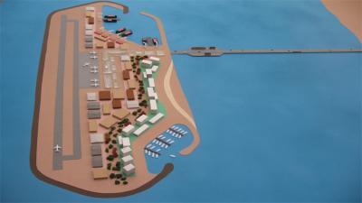 وزير إسرائيلي يلتقي مسؤولين عرب لبحث مشروع جزيرة اصطناعية قبالة سواحل غزة