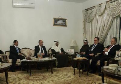 المخلافي يطلع السفراء العرب في باكستان على مستجدات الأوضاع في اليمن