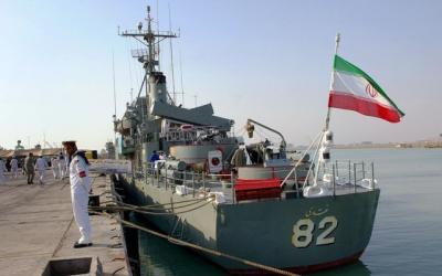 قوة بحرية إيرانية جديدة تتوجه إلى خليج عدن ومضيق باب المندب جنوب اليمن