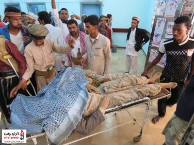 بالصور .. إرتفاع عدد القتلى من قوات الجيش في القصف الصاروخي الذي إستهدف أحد المساجد بمأرب
