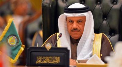 """أمين عام مجلس التعاون الخليجي """" الزياني """" يعلق على إستهداف الحوثيين للمصلين في مسجد بمنطقة كوفل بمأرب"""