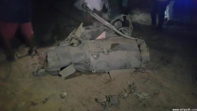 إطلاق صاروخ باليستي على السعودية ( صوره)