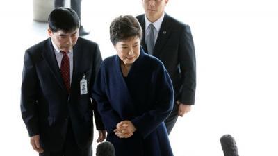 رئيسة كورية الجنوبية المعزولة تمثل أمام المحكمة