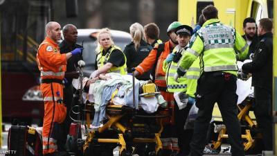 4 قتلى  وأكثر من 20 جريح  بهجوم قرب مبنى البرلمان البريطاني