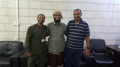 تسجيل صوتي للوزير بن بريك يهاجم فيه الحراك الجنوبي ويتهم بعض قياداته بأنهم عقدوا إتفاقيات مع الشيعة في إيران