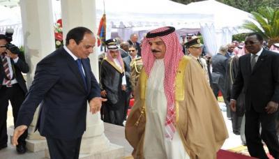 زيارة ملك البحرين للقاهرة : رأب الصدع بين السيسي والسعودية