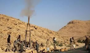 """لأول مره قوات الشرعية تعلن قصفها بـ """" المدفعية""""  لمواقع الحوثيين في العاصمة صنعاء"""